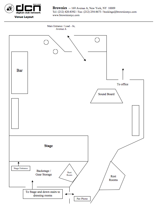 Brownies Floor Plan